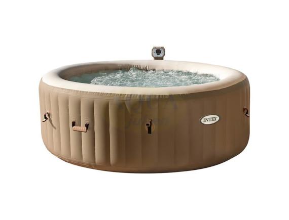 Бассейн-джакузи Bubble Massage 145/196х71см, круглый с круговым пузырьковым массажем, Intex