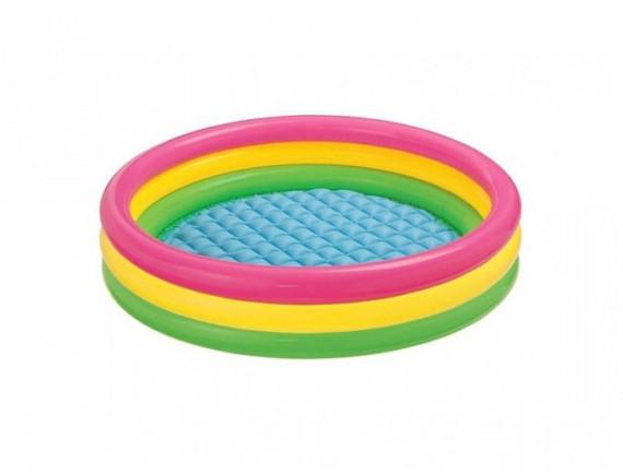 """Детский надувной бассейн """"Отблеск заката"""" 86х25 см Intex"""