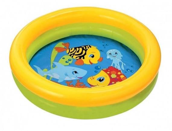 Детский надувной бассейн 61х15 см Intex