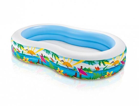 """Надувной бассейн """"Лагуна"""" 262х160х46 см, Intex"""
