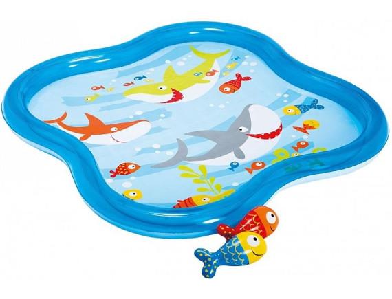 Надувной (детский) бассейн 140х140х11, Intex