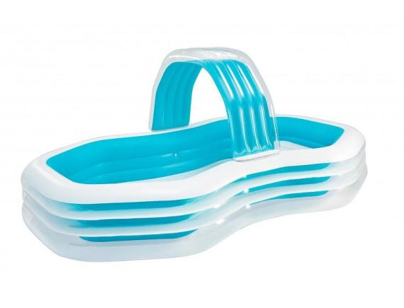 Надувной (детский) бассейн 310*188*130 с распылителем, Intex