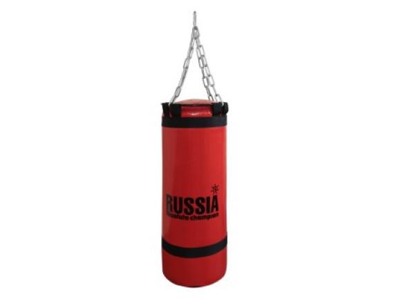 Боксерская груша (боксерский мешок) Absolute Champion Red 30 кг, 80 х 29 см