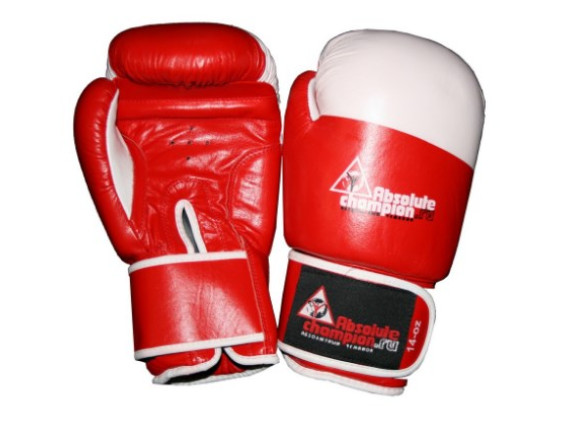 Перчатки для бокса натуральная кожа 1002 10 унций