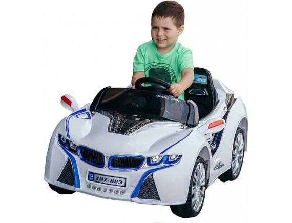 Детский электромобиль BMW i8 BJ803, цвет белый