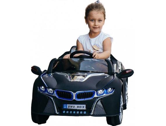 Детский электромобиль BMW i8 BJ803Р, цвет черный
