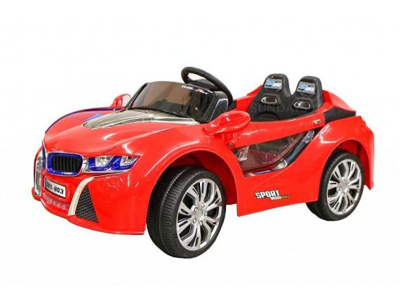 Детский электромобиль Sundays BMW i8 BJ803, цвет красный