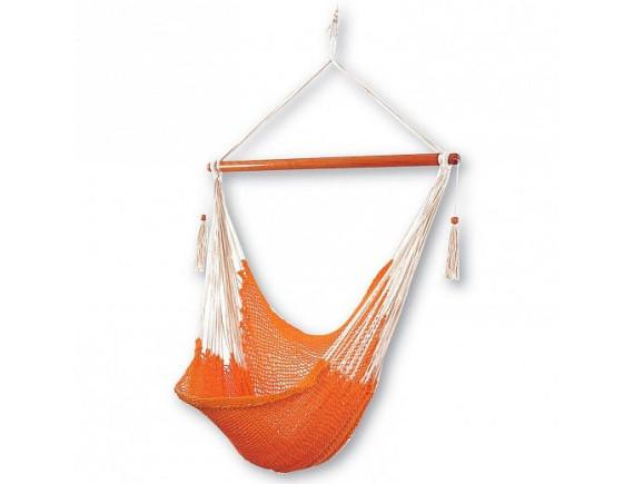 Кресло-гамак CARINA, материал: хлопок, цвет: оранжевый 1294