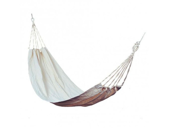 Гамак HANG, 200x100cm; с сумкой; материал: хлопок; цвет: белый 12944