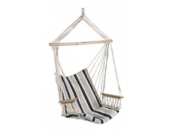 Кресло-гамак HIP материал: хлопок, цвет: ,бело-синяя полоска полоска 12979