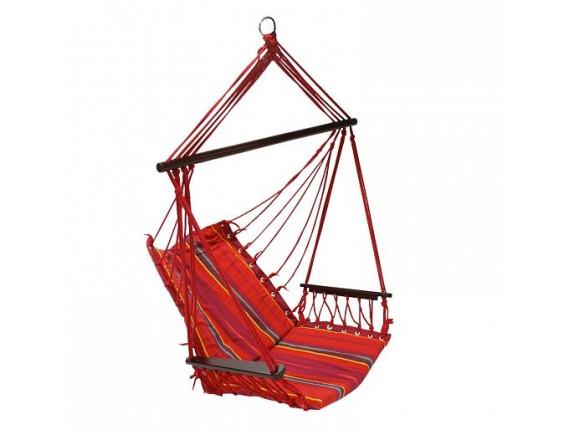 Кресло-гамак HIP материал: хлопок, цвет: красная полоска 12977