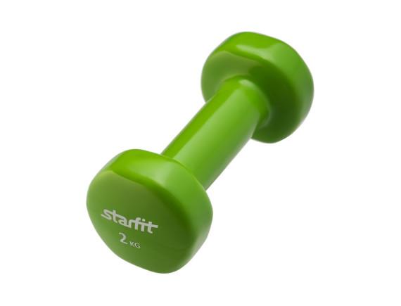 Гантель Starfit DB-101 (2 кг) зеленый