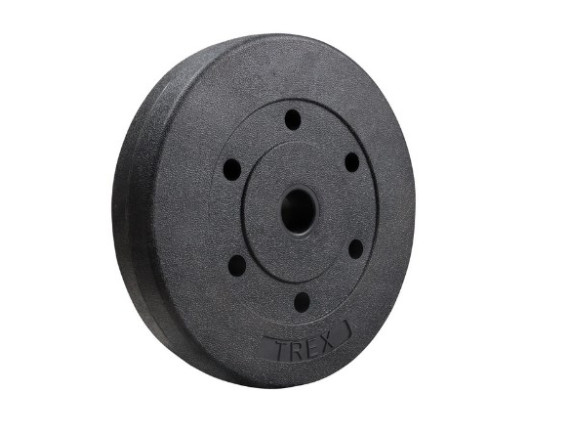 Композитный диск Trex Sport 10 кг (посад. диаметр 26 мм)