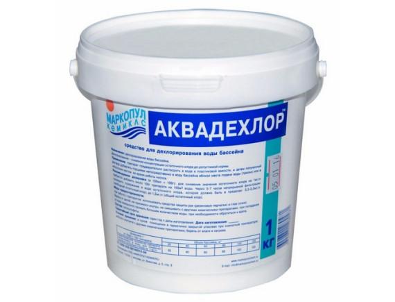 """АКВАДЕХЛОР"""" (ведро) 1 кг.Средство для дехлорирования воды """" Маркопул"""