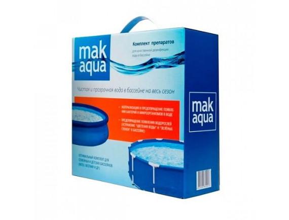 МАК AQUA Комплексный препарат для дезинфекции воды в бассейне