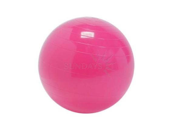 Фитбол гладкий Sundays Fitness IR97402 (75см) розовый