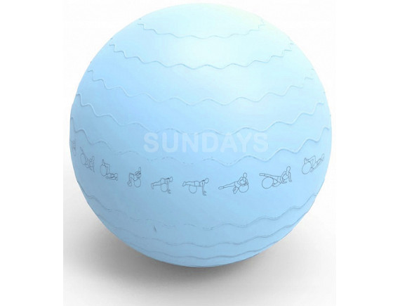 Фитбол гладкий Sundays Fitness IRBL17106 (65см) голубой