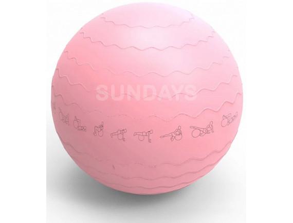 Фитбол гладкий Sundays Fitness IRBL17106 (65см) розовый