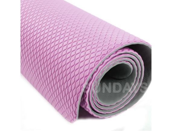 Коврик для йоги и фитнеса Sundays Fitness IRBL17107 розовый