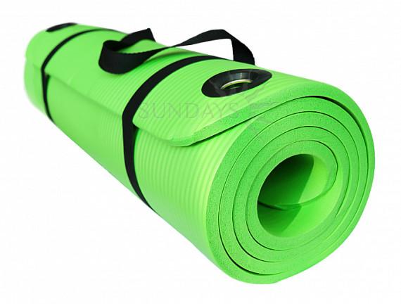 Коврик для йоги Sundays Fitness IR97506 зеленый