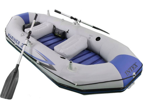 Лодка надувная Mariner-3 297х127х46 см  Intex