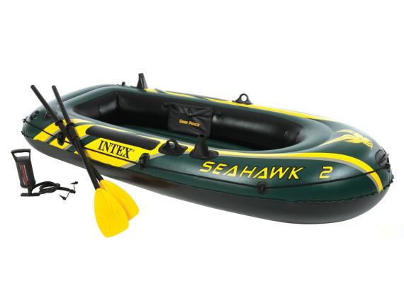 Лодка надувная Seahawk-2 Set  236x114 см Intex
