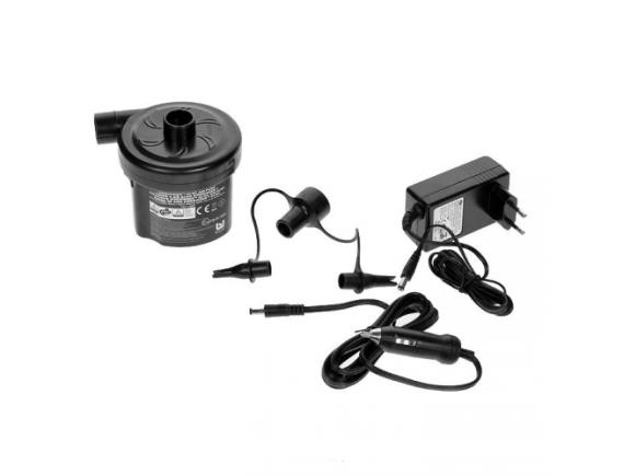 Насос электрический сетевой+от прикуривателя Bestway Sidewinder 12V AC/DC Air Pump, 220v/12v