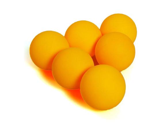 Шарики теннисные (6 шт) 4 звезды