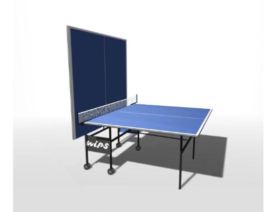 Стол теннисный, складной на роликах WIPS Roller
