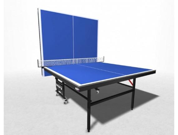 Стол теннисный складной усиленный на роликах WIPS Master Roller
