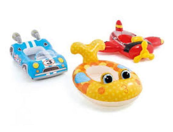 """Надувная детская лодка """"Транспорт"""" Intex"""