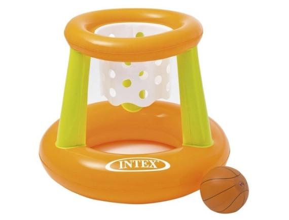 Надувное баскетбольное кольцо для бассейна Intex