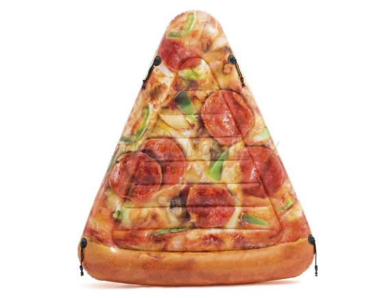 """Надувной плот Intex """"Пицца"""" 175х145 см"""