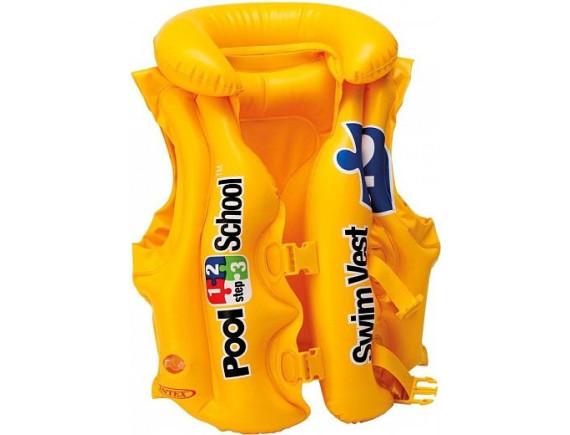 "Жилет для плавания 50х47см ""Школа плавания - шаг 2"" Intex"