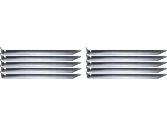 Комплект запасных колышков ATEMI 1см*23см, сталь, 10 штук, AC-T-004
