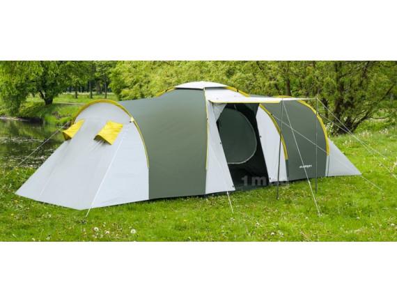 Палатка ACAMPER NADIR 8-местная 3000 мм/ст зелёная
