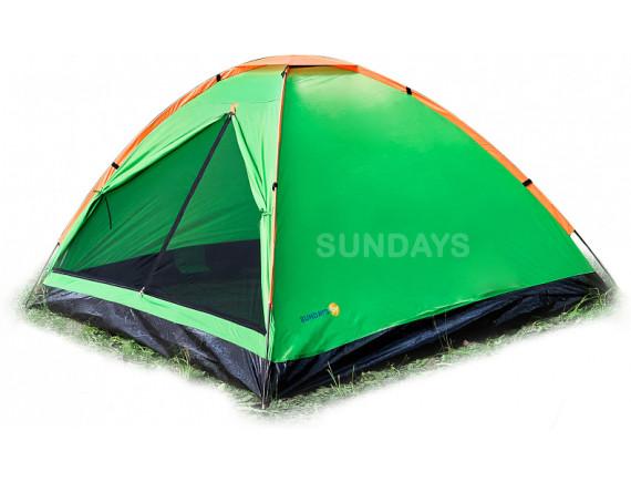 Палатка Sundays ZC-TT004 (зеленый/желтый)