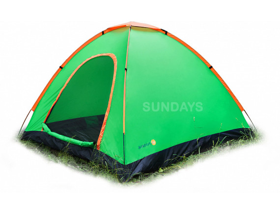 Палатка Sundays ZC-TT041 (зеленый/желтый)