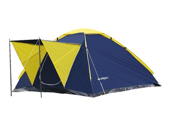 Палатка туристическая MONODOME 4 blue