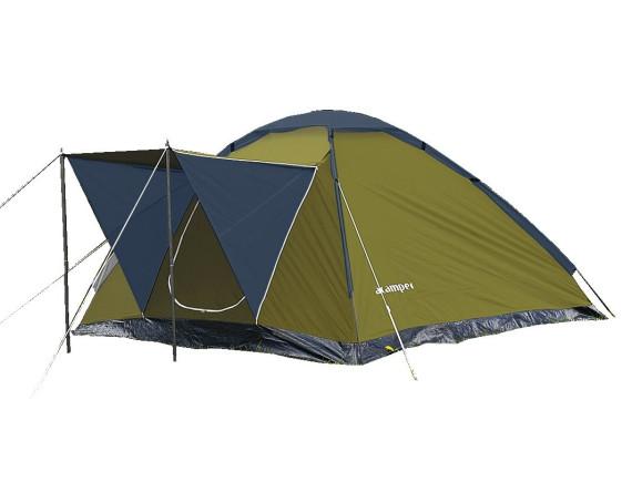 Палатка туристическая MONODOME 4 green