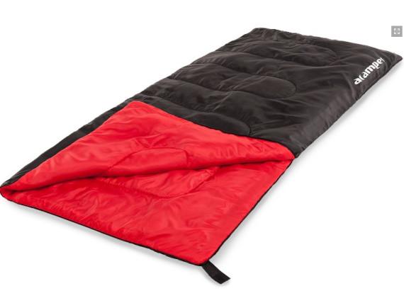 Спальный мешок 150г /м2 ACAMPER, в 3-х расцветках (чёрный)