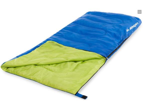 Спальный мешок 150г /м2 ACAMPER, в 3-х расцветках (синий)