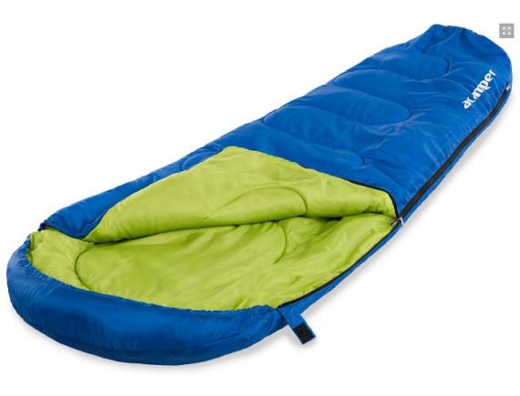 Спальный мешок кокон-мумия 150г /м2 ACAMPER, в 3-х расцветках (синий)