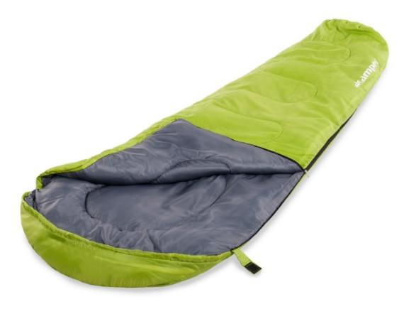 Спальный мешок кокон-мумия 150г /м2 ACAMPER, в 3-х расцветках (зелёный)