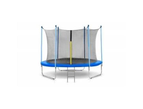 Батут Atlas Sport 252 см (8ft) с внутренней сеткой и лестницей