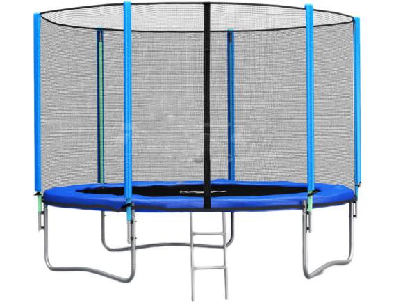 Батут Neo Sport 183 см - 6ft с внешней сеткой и лестницей