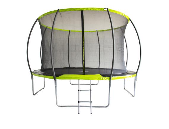 Батут с сеткой Fitness Trampoline GREEN 10 FT Extreme Inside