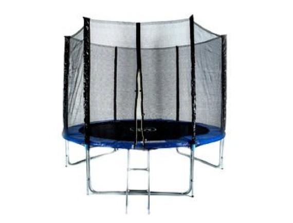 Комплект батут Fitness Trampoline 10FT-3-Extreme с сеткой и лестницей