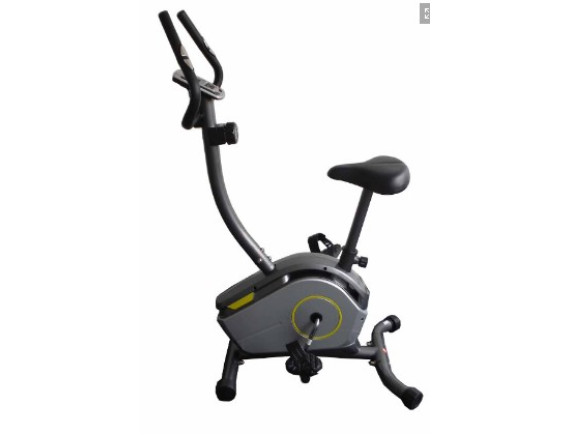 Велотренажер Atlas Sport 360B с желтыми вставками (маховик 6кг)