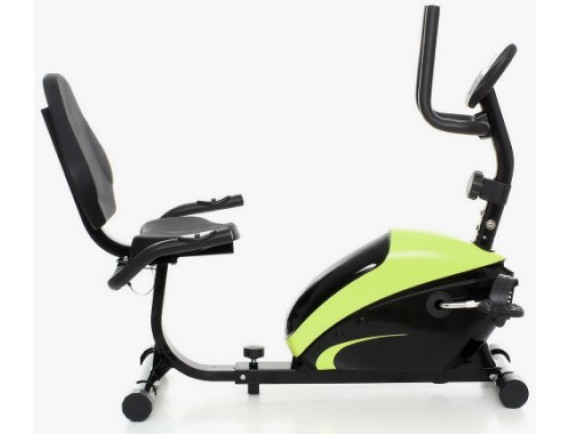 Велотренажер Atlas Sport Recumbert (маховик 7 кг) светло зеленый